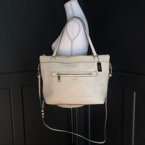 Coach Tyler Tote - Pebbled Leather